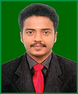 Mr. V. Saravanan <br>Project Officer
