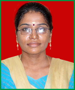Mrs. R. Sangeetha <br> Associate Director